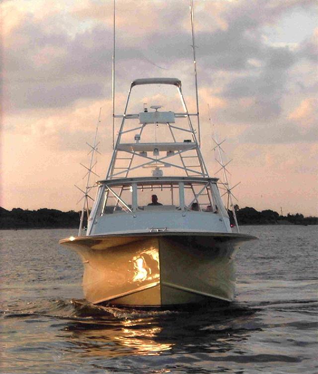 Sport fishing yachts custom carolina boats 53 39 express for Express fishing boats